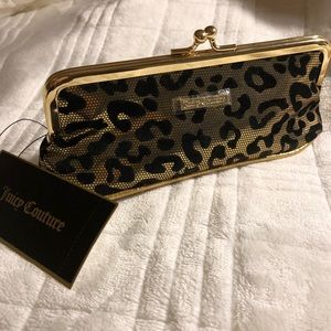 BNWT Juicy Couture kisslock cosmetic bag!
